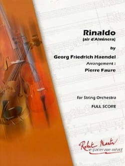 Rinaldo Air D'almira - HAENDEL - Partition - laflutedepan.com