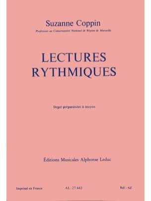 Suzanne Coppin - Lectures rythmiques -Préparatoire à moyen - Partition - di-arezzo.fr