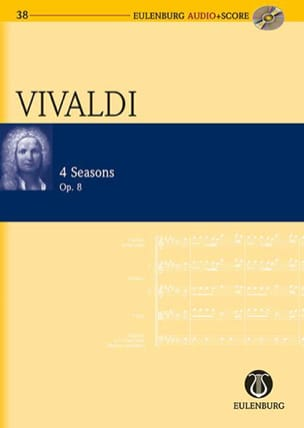 VIVALDI - The 4 Seasons - Sheet Music - di-arezzo.com
