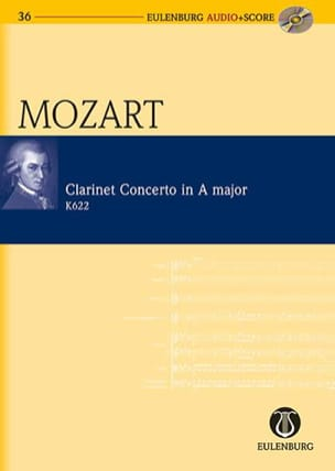 MOZART - Clarinet Concerto KV 622 In the Major - Sheet Music - di-arezzo.co.uk