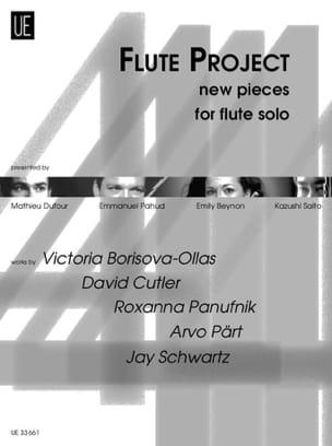 Flute Project Partition Flûte traversière - laflutedepan