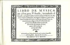 Libro de musica en cifras para vihuela - laflutedepan.com