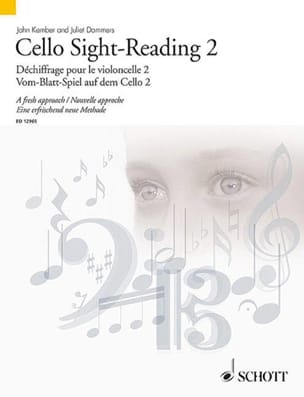 Kember John / Dammers Juliet - Cello Sight Reading - 2 - Partition - di-arezzo.fr