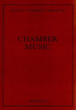 Complete Chamber Music - ELGAR - Partition - laflutedepan.com