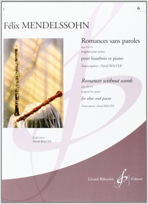 MENDELSSOHN - Romances Without Words Volume 6: Opus 85/102 - Sheet Music - di-arezzo.co.uk