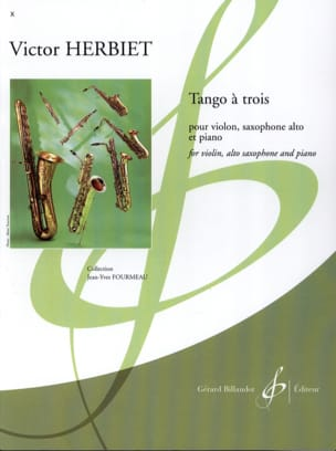 Victor Herbiet - Tango has three - Sheet Music - di-arezzo.co.uk