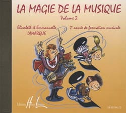 Elisabeth LAMARQUE et Marie-José GOUDARD - CD - The Magic of Music Volume 2 - Sheet Music - di-arezzo.com