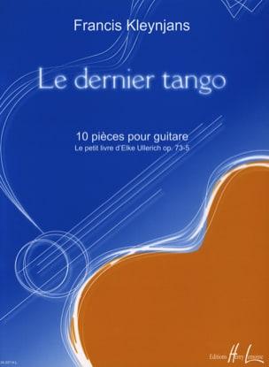 Francis Kleynjans - Der letzte Tango - Noten - di-arezzo.de