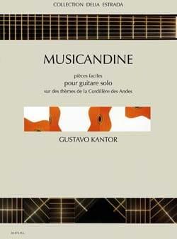 Musicandine - Gustavo Kantor - Partition - Guitare - laflutedepan.com