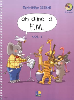 SICILIANO - On Aime la FM - Volume 3 - 楽譜 - di-arezzo.jp