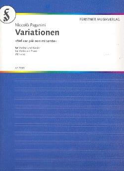 Niccolò Paganini - Variationen - Partition - di-arezzo.fr