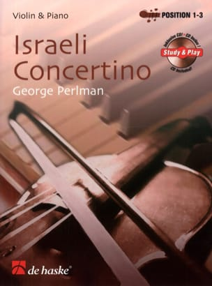 George Perlman - Israeli Concertino - Sheet Music - di-arezzo.co.uk
