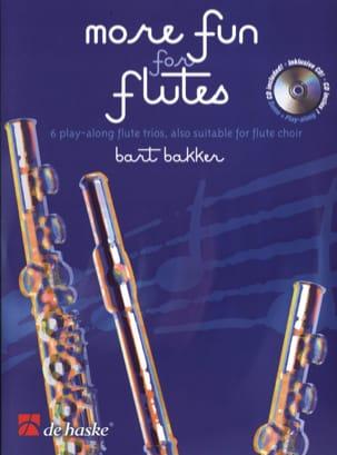 Bart Bakker - More Fun For Flute - Partition - di-arezzo.fr