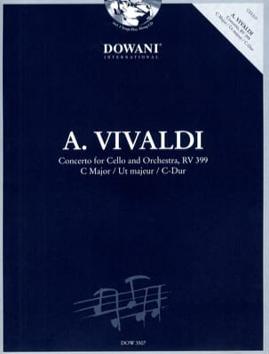 VIVALDI - Ut Maj cello concerto. - Rv 399 - Sheet Music - di-arezzo.co.uk