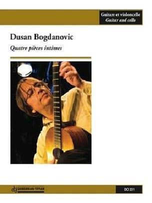 Dusan Bogdanovic - 4 Intimate Rooms - Sheet Music - di-arezzo.com