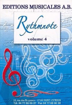 - Rythmnote Volume 4 - Sheet Music - di-arezzo.co.uk