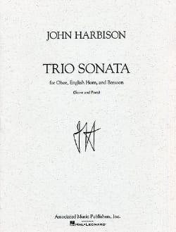 Trio Sonata -Score + Parts - John Harbison - laflutedepan.com