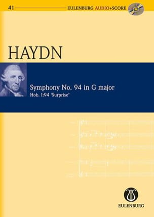 HAYDN - Symphony No. 94 Hob 1:94 In G Major - Sheet Music - di-arezzo.co.uk