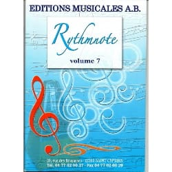 - Rythmnote Volume 7 - download CD - Sheet Music - di-arezzo.com