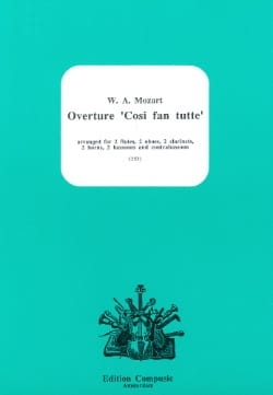 MOZART - Opening Cosi Fan Tutte - Sheet Music - di-arezzo.co.uk