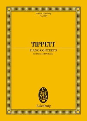 Michael Tippett - Piano Concerto - Partition - di-arezzo.fr
