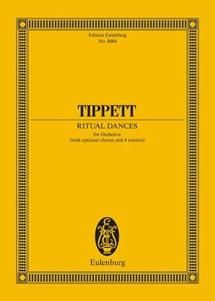 Michael Tippett - リチュアルダンス - 楽譜 - di-arezzo.jp