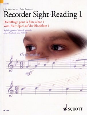 John And Bowman Peter Kember - Recorder Sight Reading 1 - Partition - di-arezzo.fr