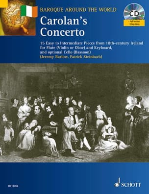 Steinbach / Barlow - Carolan's Concerto - Partition - di-arezzo.fr