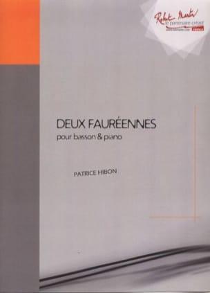 Patrice Hibon - Two Fauréennes - Sheet Music - di-arezzo.com