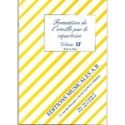 Formation of the Ear by the Directory Volume 1f cd - Sheet Music - di-arezzo.co.uk