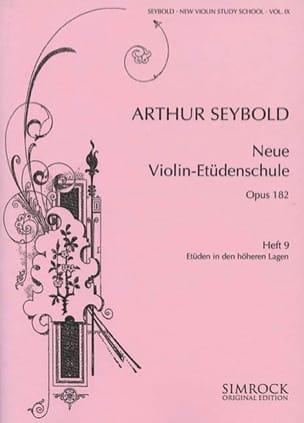 Arthur Seybold - Nueva escuela de estudio de violín Op.182 - Folleto 9 - Partitura - di-arezzo.es