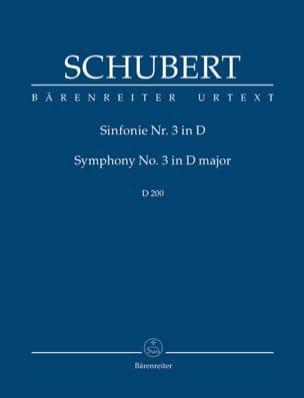 SCHUBERT - Symphony N ° 3 - Sheet Music - di-arezzo.co.uk