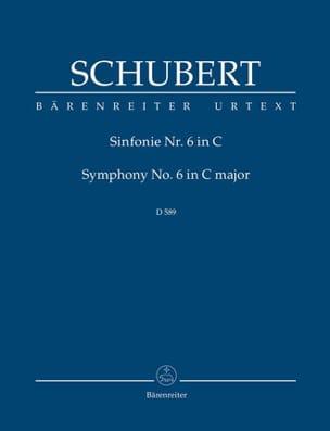 SCHUBERT - Symphonie N°6 - Partition - di-arezzo.fr