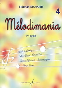 Stephan Etcharry - Melodimania - Volume 4 - Sheet Music - di-arezzo.com