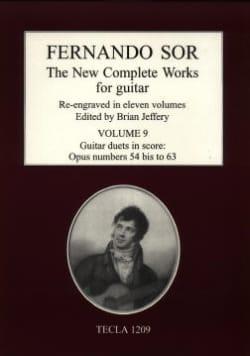 The New Complete Works, Vol. 9 - Fernando Sor - laflutedepan.com