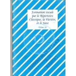 X - Vocal Training By The Classical Repertoire Variety Jazz Vol 7d - Sheet Music - di-arezzo.com