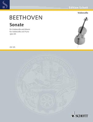 BEETHOVEN - Sonate Op.64 - Partition - di-arezzo.fr