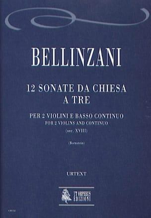 Paolo Benedetto Bellinzani - 12 Sonata da chiesa a tre - Sheet Music - di-arezzo.com