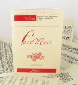 Blainville Charles Henri De - Second Livre De Sonates A 2 Violoncelles - Partition - di-arezzo.fr
