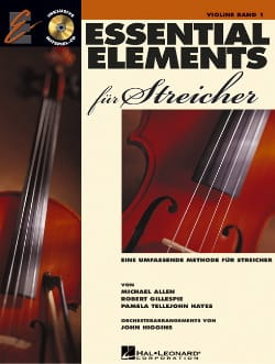 Allen Michael / Robert Gillepsie / Pamela Tellejohn Hayes - Essential Elements für Streicher - Violin, volume 1 - Sheet Music - di-arezzo.com