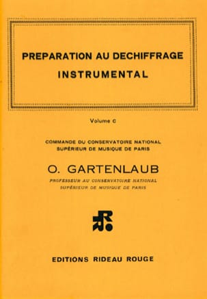 Odette Gartenlaub - Volume C Decryption Preparation - Sheet Music - di-arezzo.co.uk