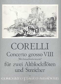 Arcangelo Corelli - Concerto g-moll op 6/8 - Partitur with Stimmen - Sheet Music - di-arezzo.co.uk