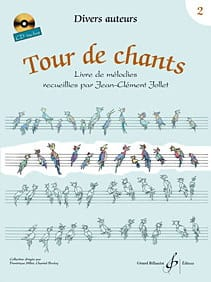 Tour de Chants Volume 2 - Jean-Clément Jollet Partition laflutedepan