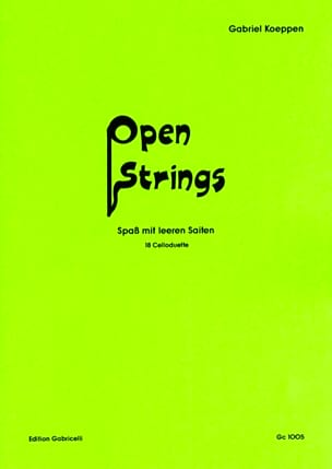 Gabriel Koeppen - Open Strings - Partition - di-arezzo.fr