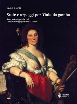 Paolo Biordi - Scale - Arpeggi for Viola da Gamba - Sheet Music - di-arezzo.co.uk