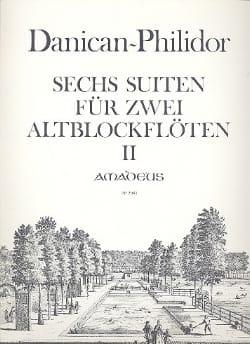 Anne Danican-Philidor - 6 Suites 4-6 Op.2 / 7-8 and Op. 3/11 Für 2 Altblockflöten - Sheet Music - di-arezzo.com