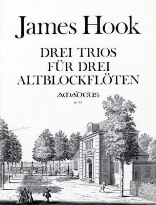 3 Trios für 3 Altblockflöten - Spielpartitur - laflutedepan.com
