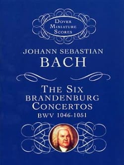 BACH - 6 Conciertos de Brandenburgo BWV 1046-1051 - Partitura - di-arezzo.es