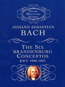 BACH - 6 Brandenburg Concertos BWV 1046-1051 - Sheet Music - di-arezzo.co.uk