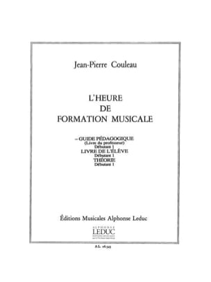 Jean-Pierre Couleau - Musical Training Hour - Beginner 1 - Teacher - Sheet Music - di-arezzo.com